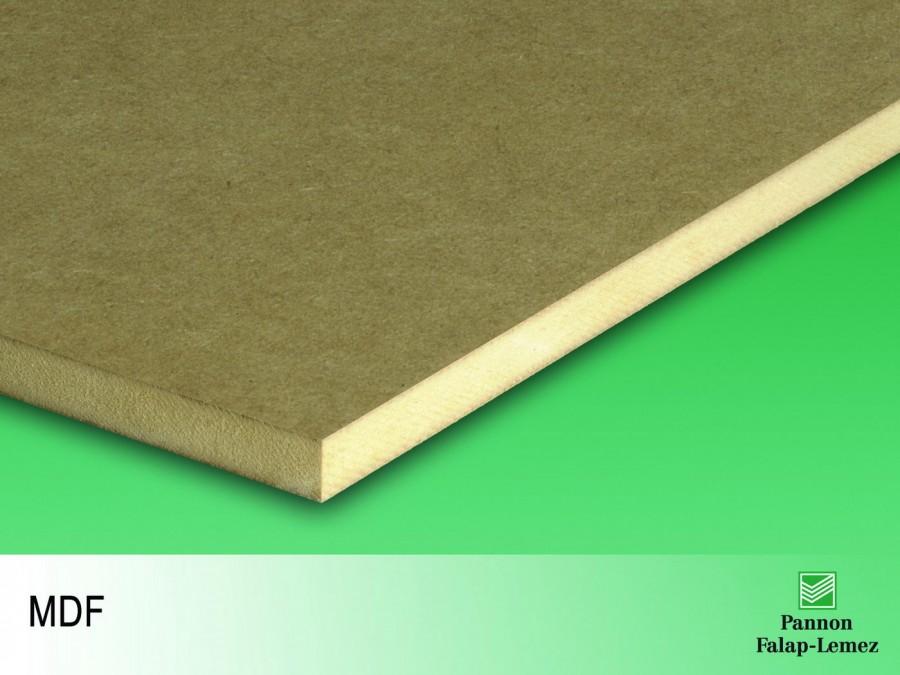 MDF lap (vékony, natúr) (2,5 mm)