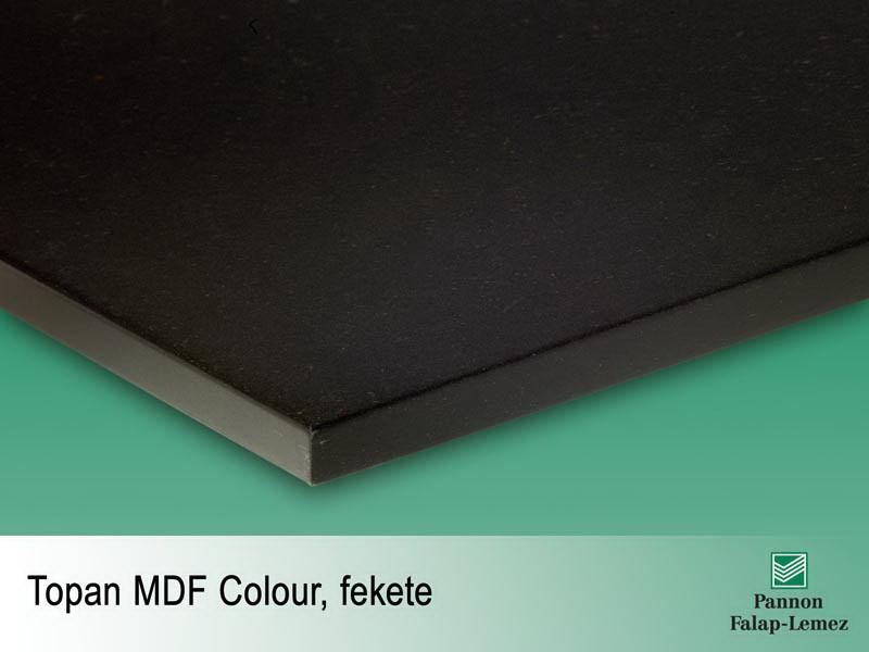 Fekete MDF lap