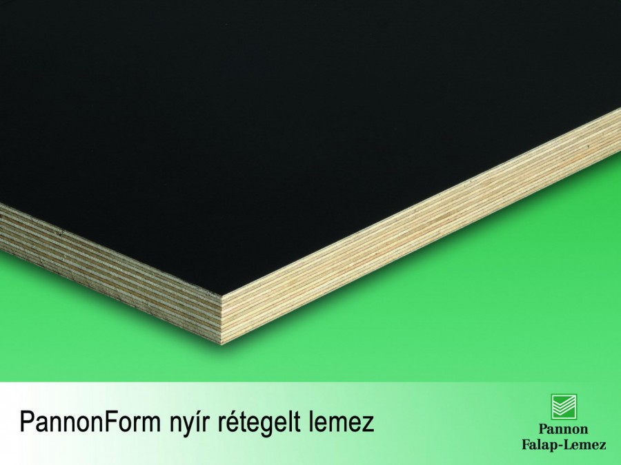 PannonForm nyír rétegelt lemez (12 mm)